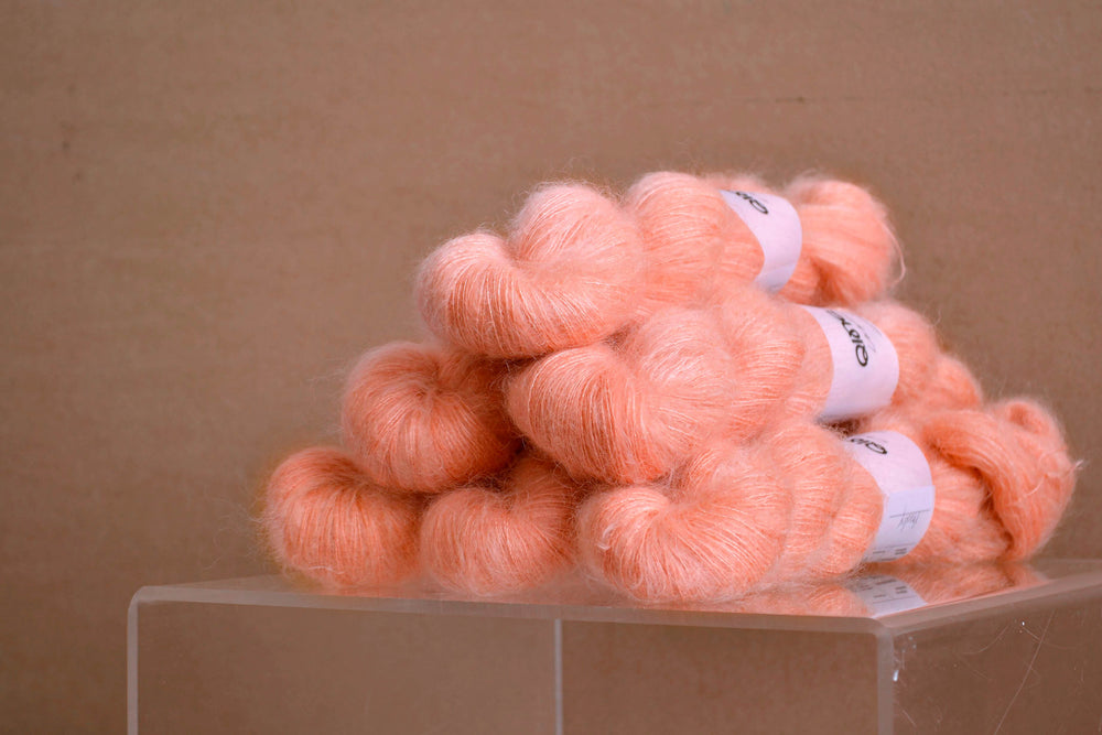 Kid Mohair Silk - Peachy