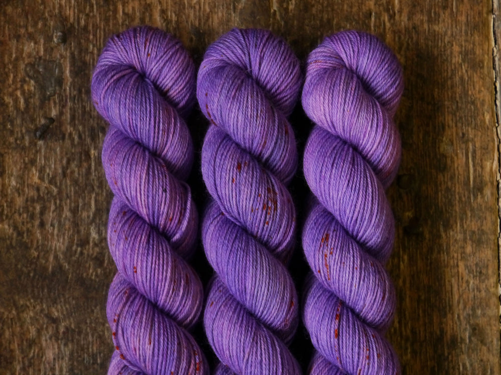 Qing Fibre Sock 50g - Purple Haze