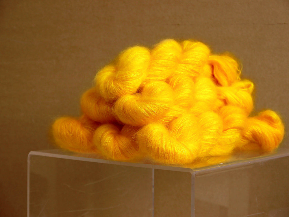 Kid Mohair Silk - Yellow Yellow