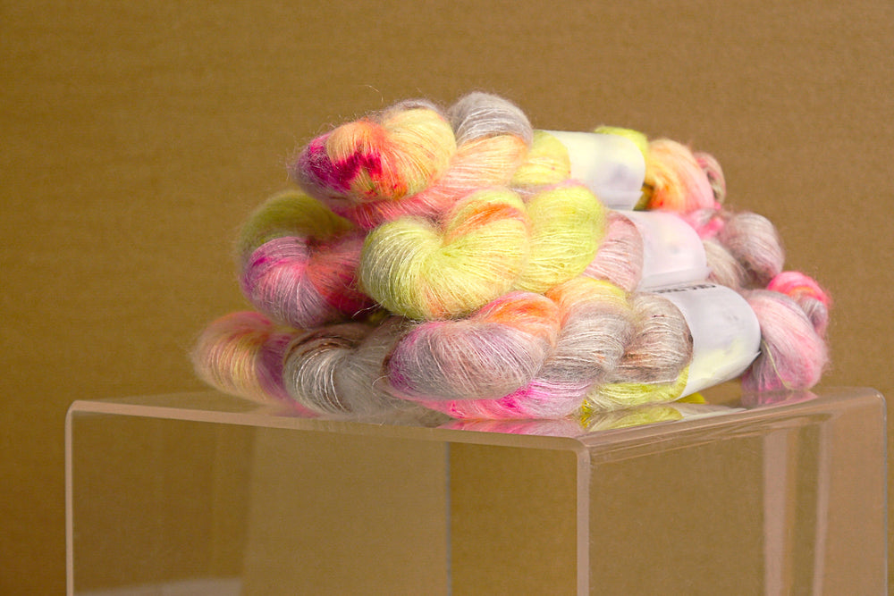 Kid Mohair Silk - Soft Lemon
