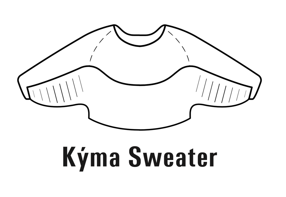KÝMA Sweater Pattern - Download Version