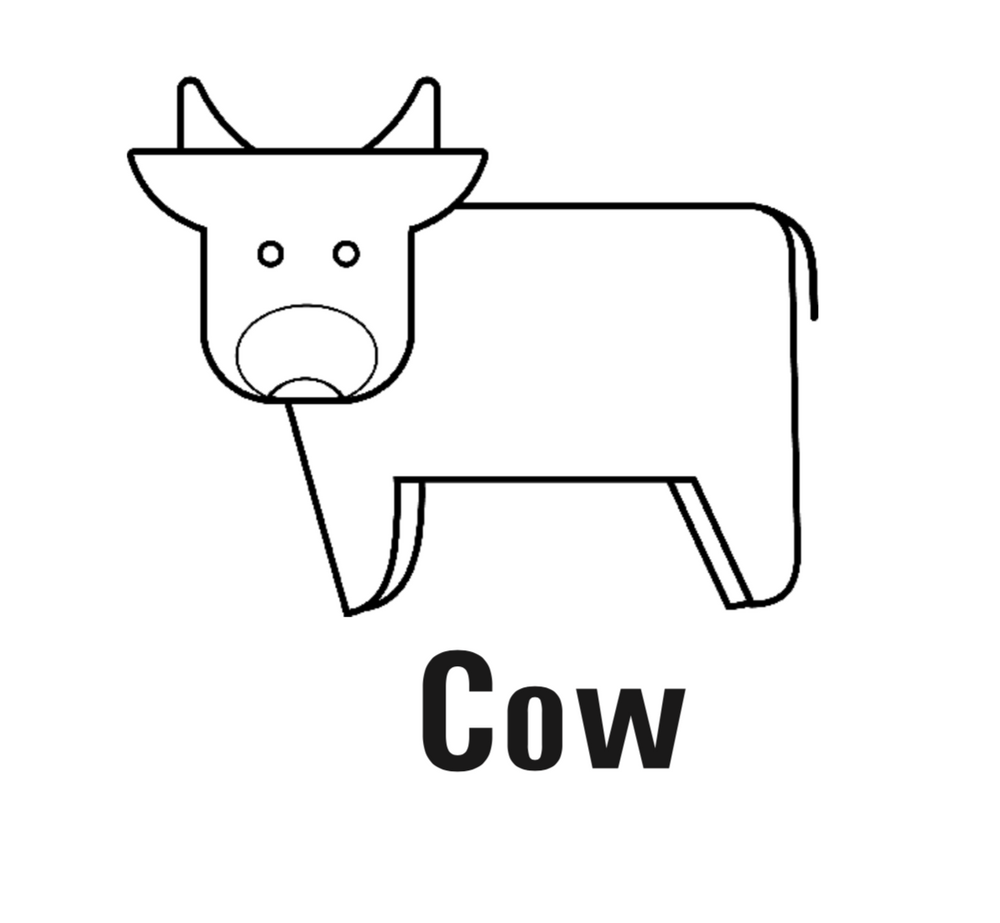 Mini Cow Pattern - Download