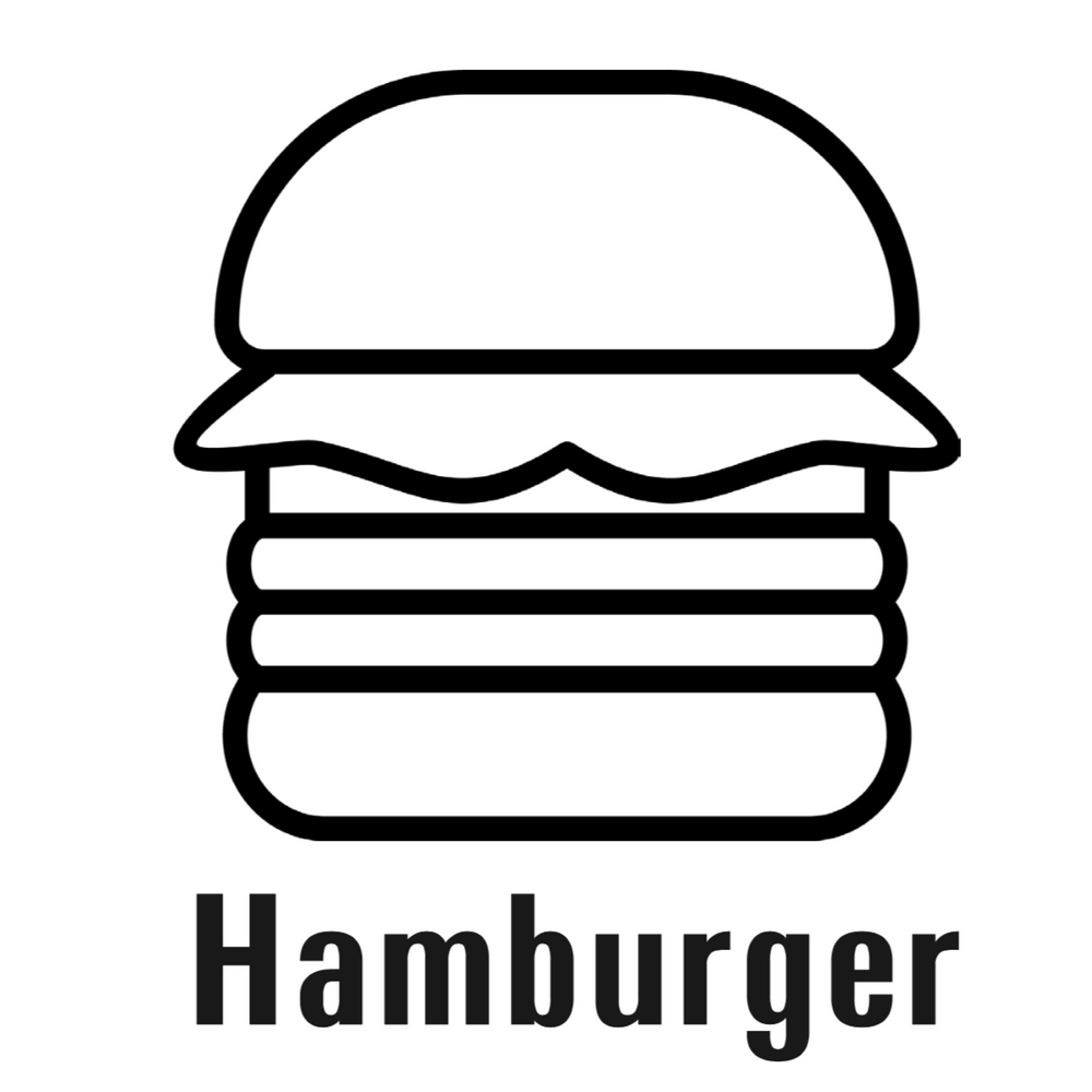 Mini Hamburger Pattern - Download