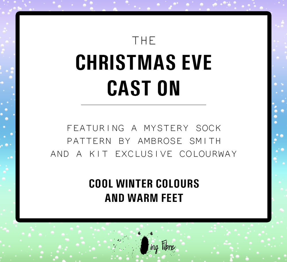 PRE SALE- Qing Fibre 2019 Mystery Christmas Eve Cast-On Kit!