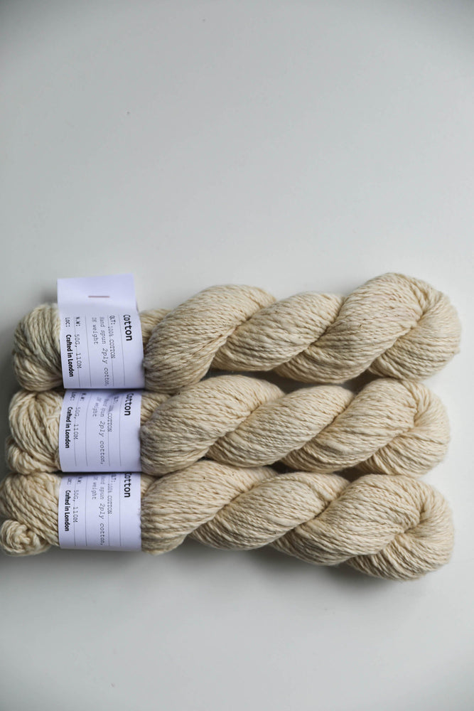 Qing Fibre Hand Spun Cotton - Henna Light