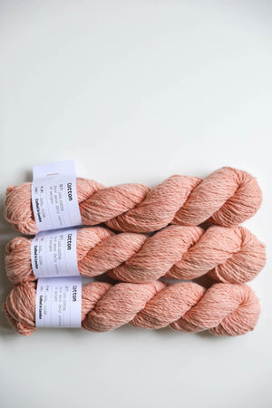 Qing Fibre Hand Spun Cotton - Madder Dark