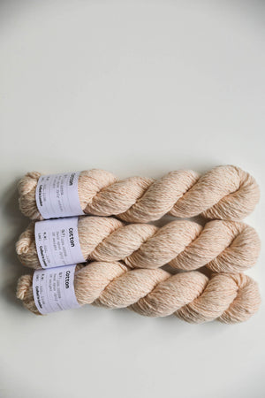 Qing Fibre Hand Spun Cotton - Sandalwood