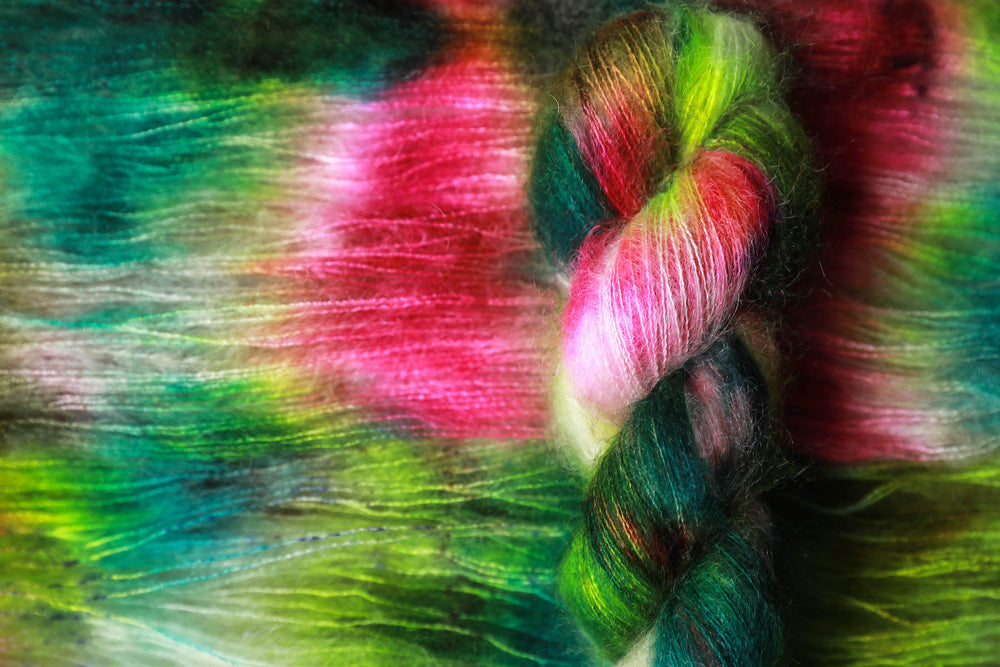 Kid Mohair Silk - Bitter Melon