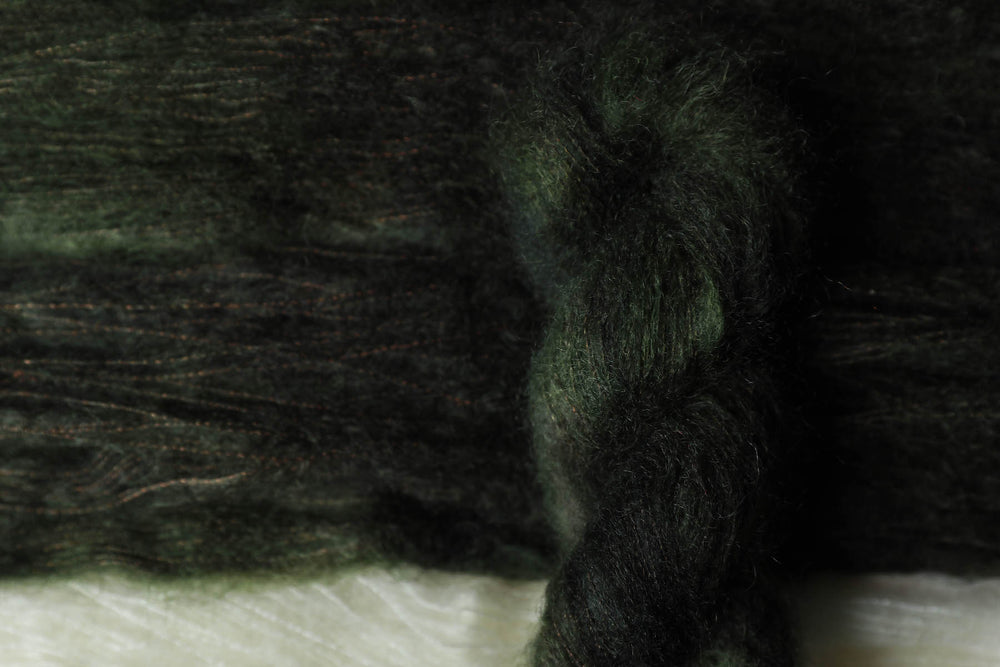 Qing Fibre Kid Mohair Silk - Dark Forest
