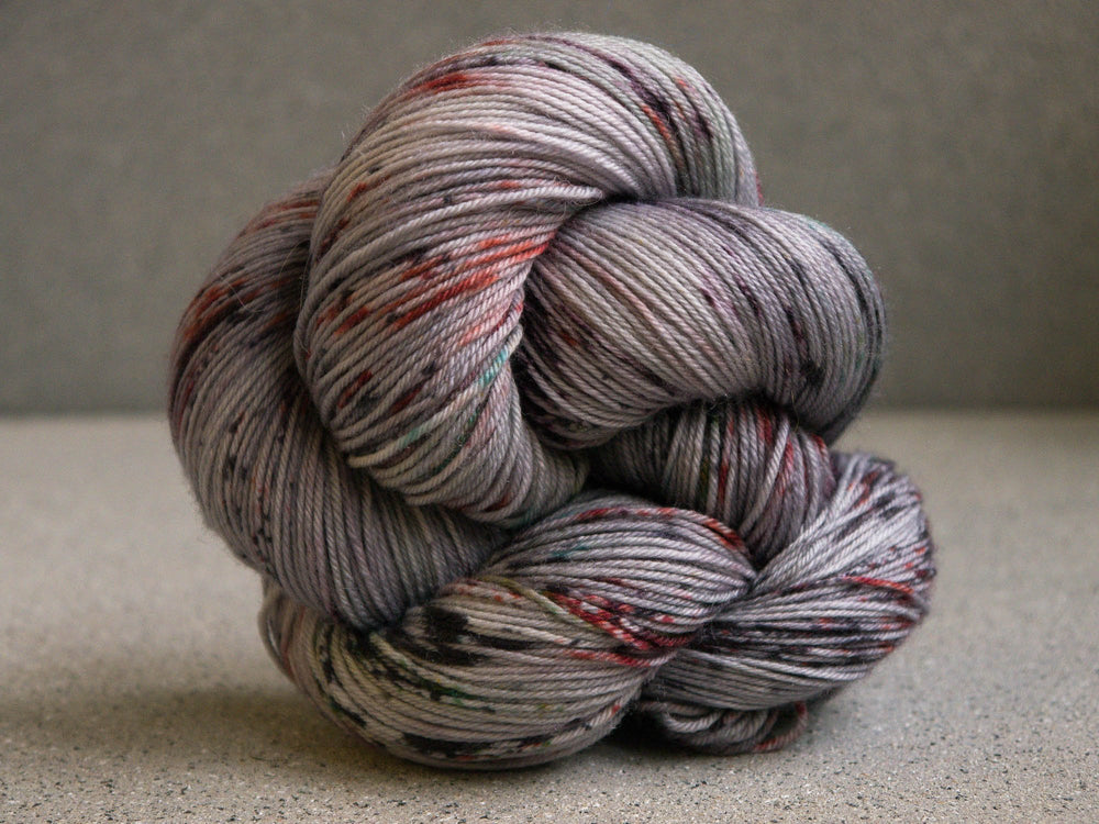 Qing Fibre Merino Fingering: Slate light