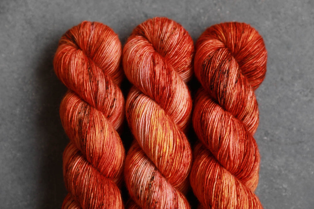 Qing Fibre Merino Single - Aflame