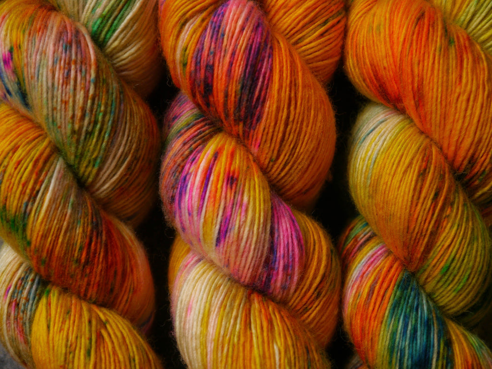 Qing Fibre Merino Single - Bees Wax