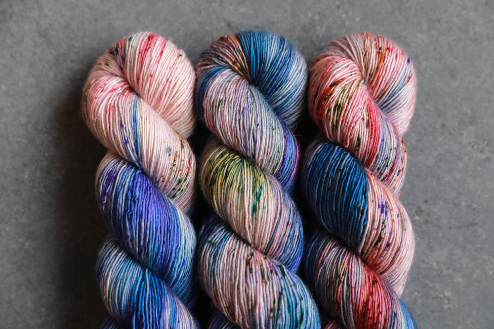 Qing Fibre Merino Single - Cornflower