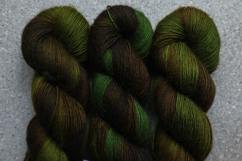 Qing Fibre Merino Single -Moss