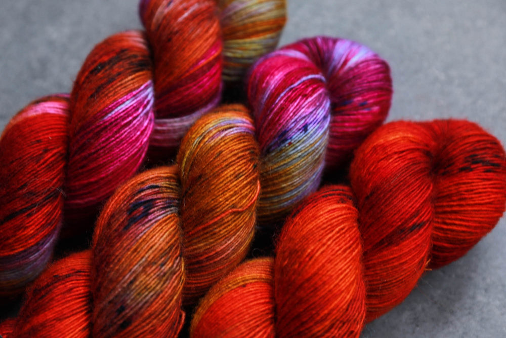 Qing Fibre Merino Single - Nebula