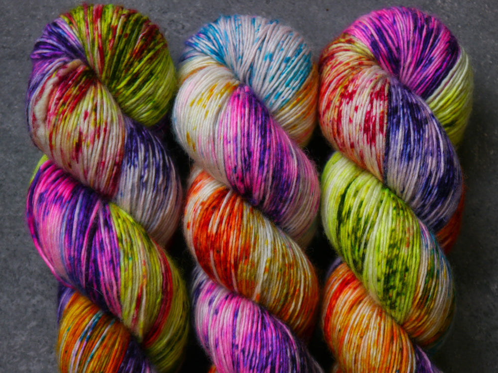 Qing Fibre Merino Single - Plum