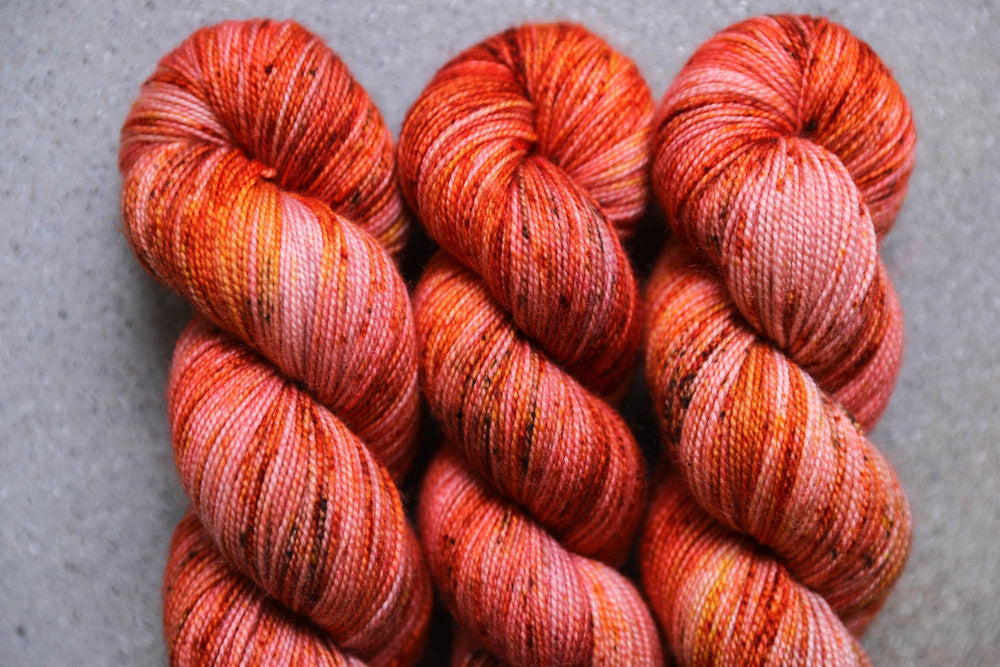 Qing Fibre Soft and Springy - Aflame