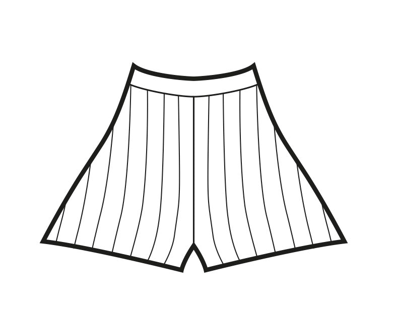 Homebody Shorts Pattern - Download Version