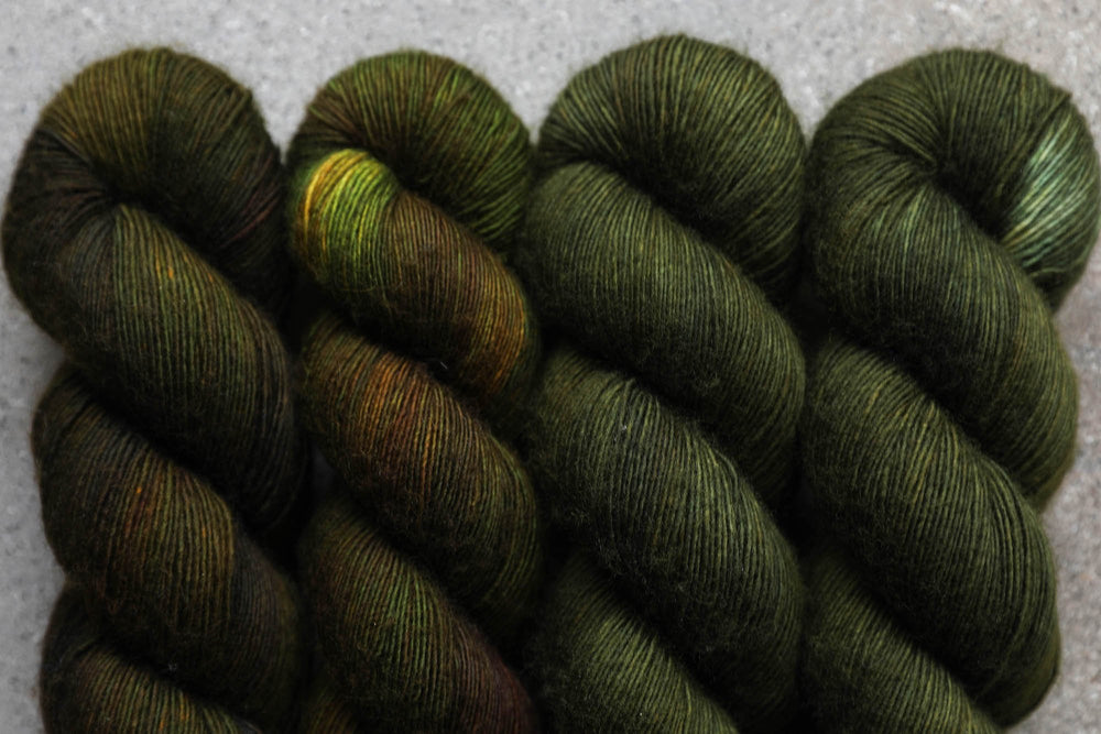 Qing Fibre Merino Single - Moss