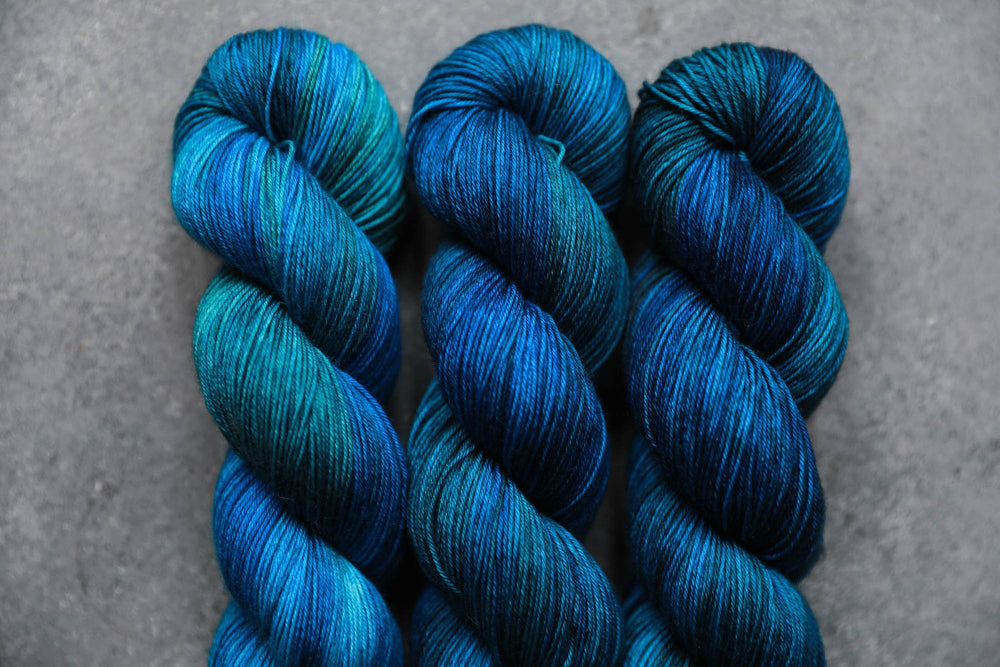 Qing Fibre Sock- Deep Sea