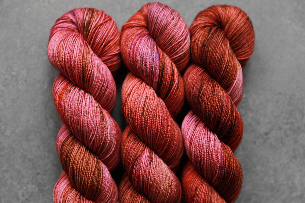 Qing Fibre Sock- Toffee Apple