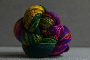 Qing Fibre Super Soft Sock: Elderwoood
