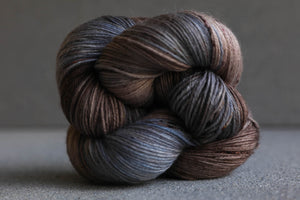 Qing Fibre Super Soft Sock: Bluefinch
