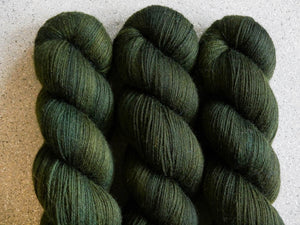 Qing Fibre Super Soft Sock: Dark Forest (Batch 2)