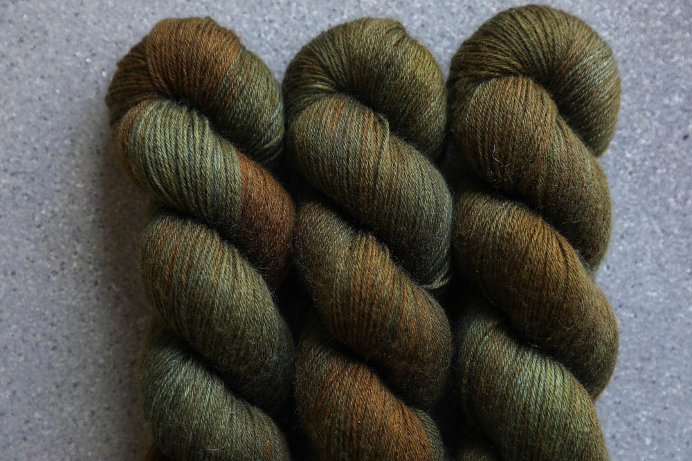 Qing Fibre Super Soft Sock: Moss