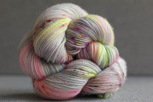 Qing Fibre Super Soft Sock: Soft Lemon