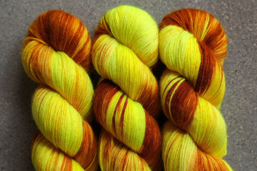 Qing Fibre Super Soft Sock: Young Ginger
