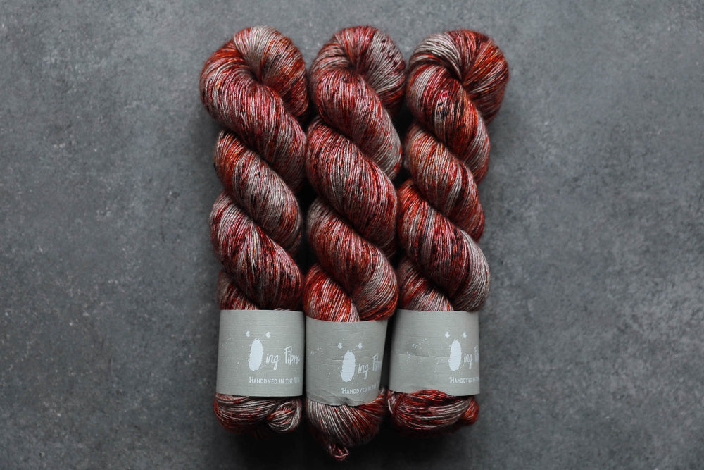 Qing Fibre Yak Single - Crackle