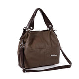 Retro Vintage Women's Leather Tote   Handbag