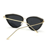 Women Alloy Temple Sunglasses Top Quality SunGlasses Original Brand Designer
