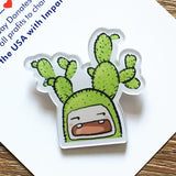 Cartoon Animal Backpack  Badge Decoration Brooches