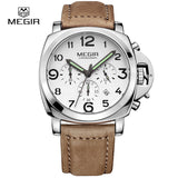 MEGIR Men's Quartz Sport Wristwatch