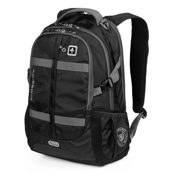 "Large capacity Swisswin fashion 15"" 16"" 17""  backpack"