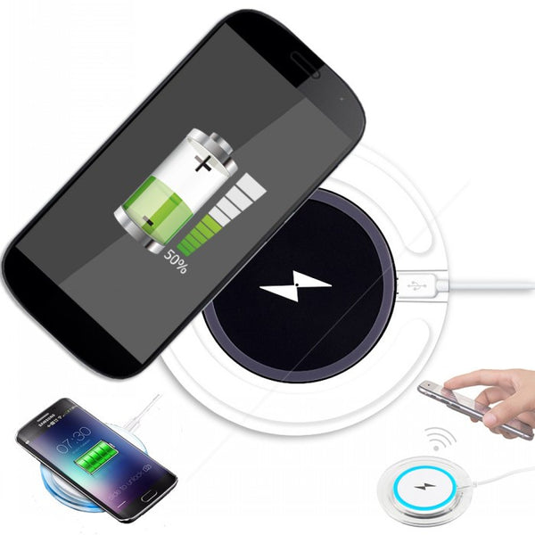 Charging Dock Pad for Mobile Phone Wireless Charger Cases