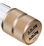 2 Port Smart Quick USB car Charger Power Adapter