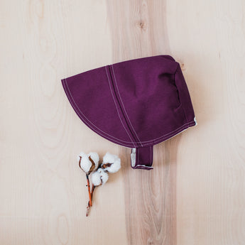 Violet Purple Sun Bonnet