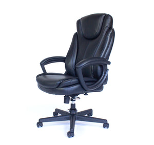 Cozy Roadie - Foldable Executive Office Chair, Portable Crew Chair - left view