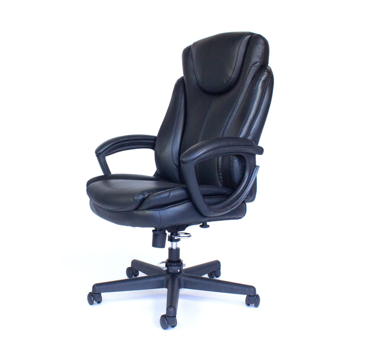 Tall Cozy Roadie - Foldable Executive Office Chair, Portable Crew Chair- Left view