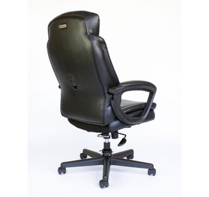 Cozy Roadie - Foldable Office Chair, Portable Crew Chair - back view