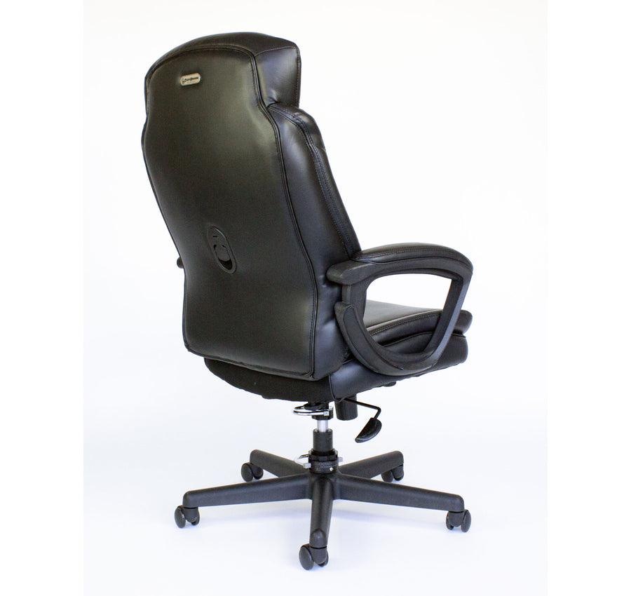 Cozy Roadie - Foldable Executive Office Chair, Portable Crew Chair - back view