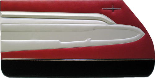 1960 Adventurer 4-Door Hardtop Trim 806 Door Panels