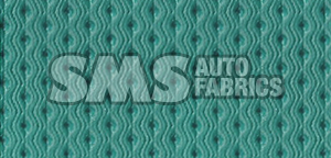 1965 Cadillac Fleetwood Eldorado Blue Green Perforated Leather