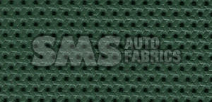 1966 Cadillac Fleetwood Eldorado Green Perforated Leather
