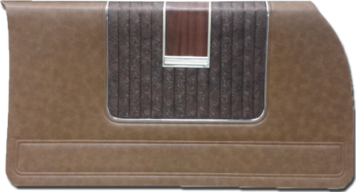 1971 Plymouth Fury Gran Coupe 2-Door Hardtop Brown Paisley Door Panels