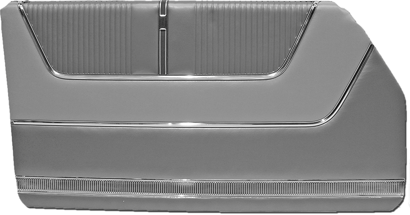 1964 Ford Galaxie 500 2-Door Hardtop Door Panels