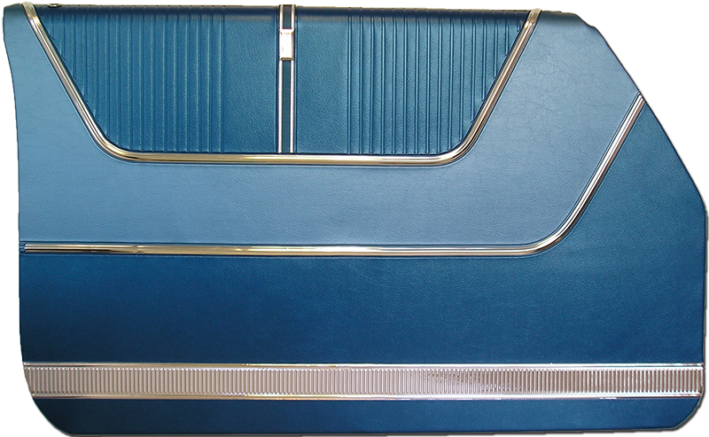 1964 Ford Galaxie 500 4-Door Hardtop Door Panels
